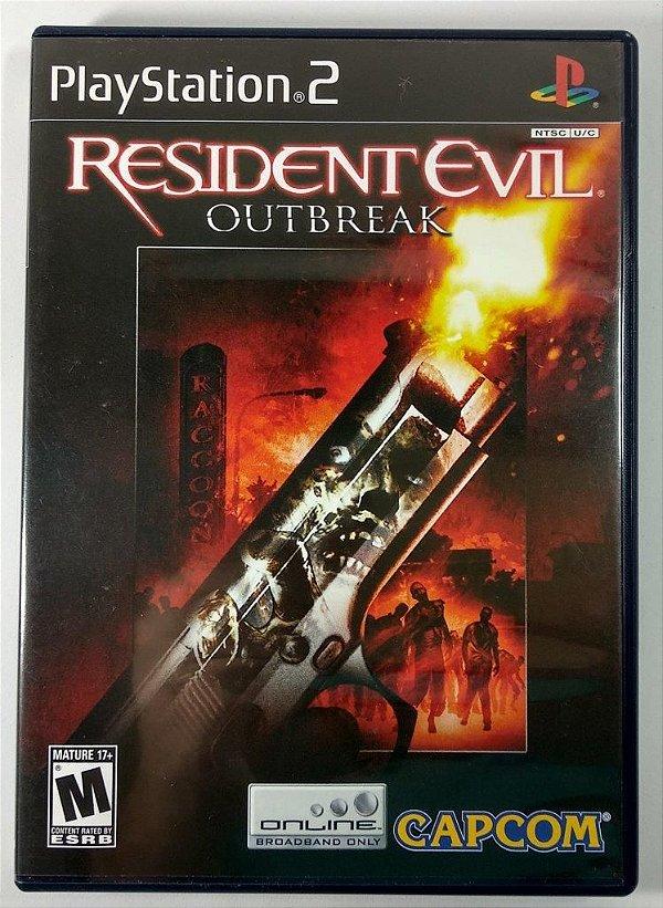 Resident Evil Outbreak Original - PS2