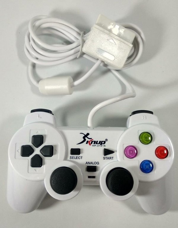 Controle (Branco) - PS1 ONE/ PS2