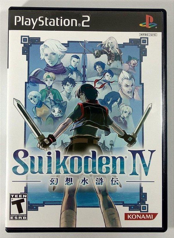 Suikoden IV Original - PS2