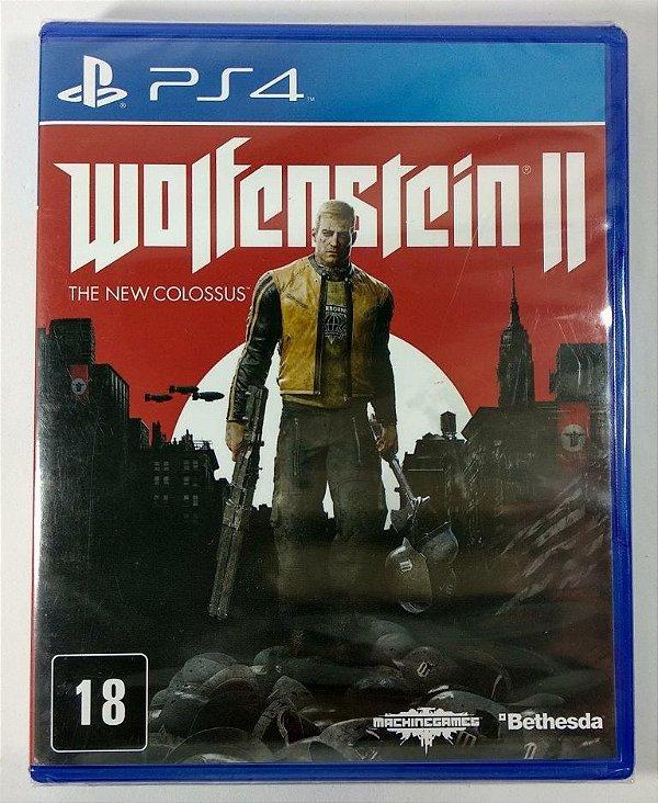 Wolfenstein II the new Colossus (lacrado) - PS4