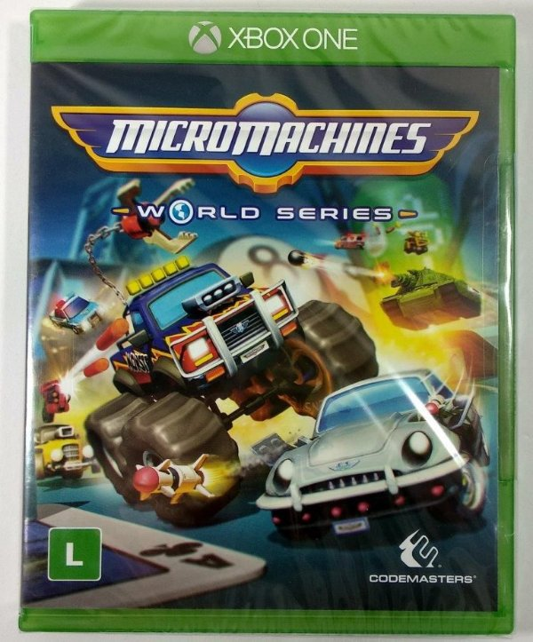 Micro Machines World Series (Lacrado) - Xbox One