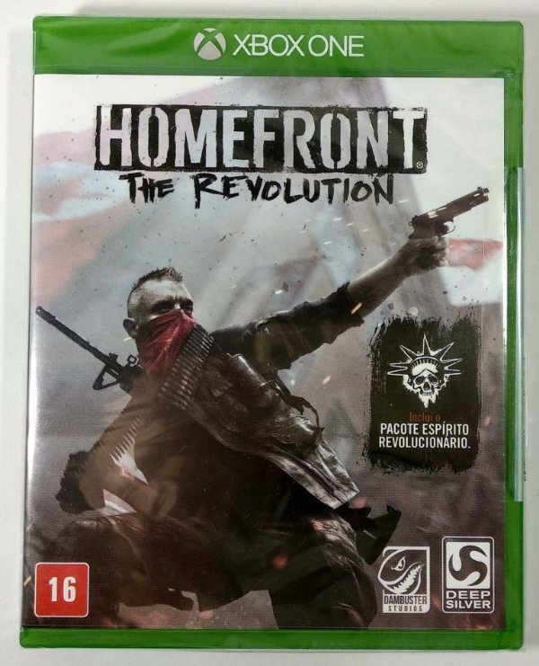 Homefront the Revolution (Lacrado) - Xbox One