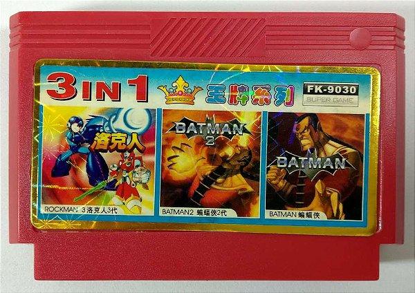 3 in 1 (Batman - Batman 2 - Rockman 3) - NES