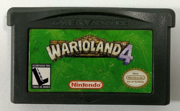 Wario Land 4 ORIGINAL - GBA