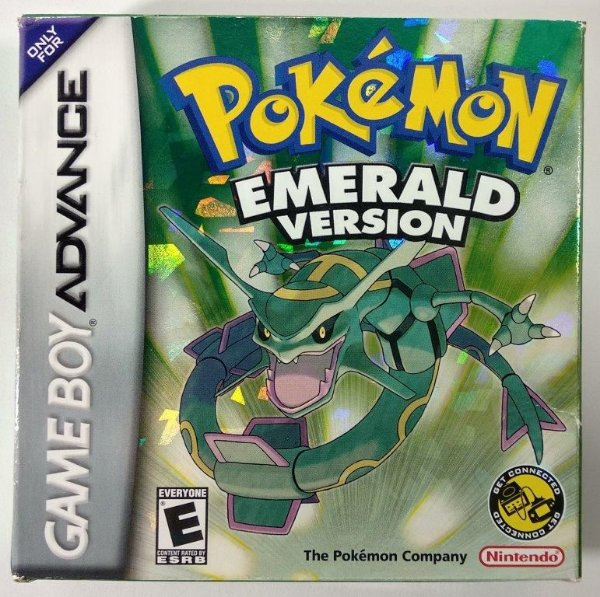 Pokemon Emerald version ORIGINAL - GBA