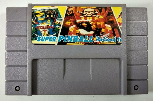 Super Pinball bohind the mask - SNES