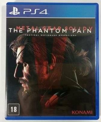 Metal Gear Solid V the Phatom Pain - PS4