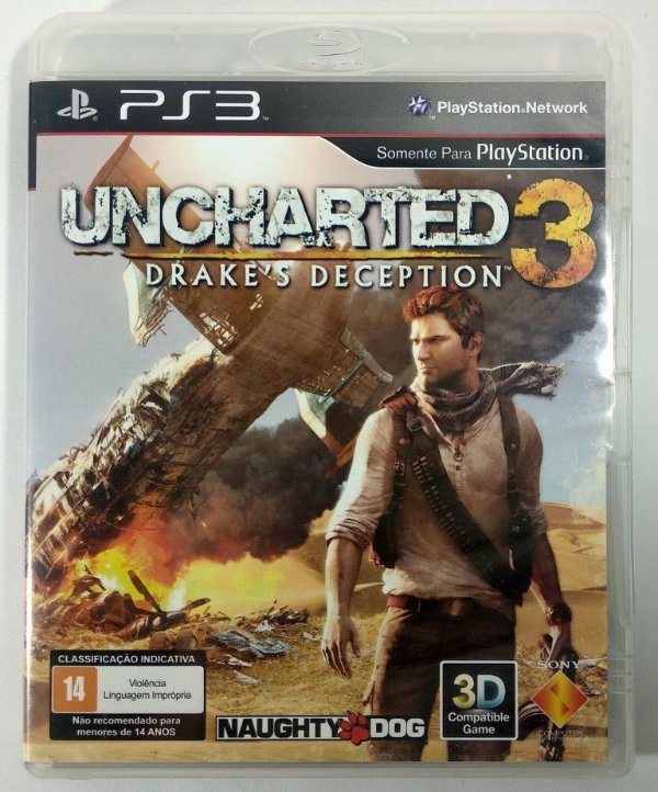 Uncharted 3 Drakes Deception - PS3
