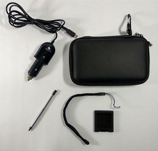 Kit Case + Carregador veicular + Caneta - 3DS