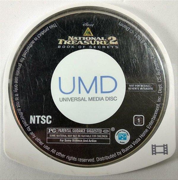 Filme National Treasure 2 Book of Secrets Original - PSP