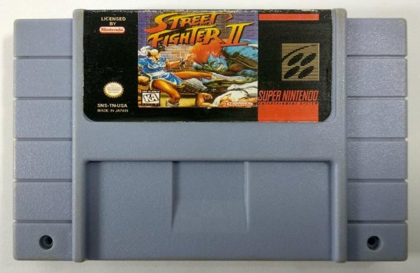 Street Fighter 2 Champion edition - SNES