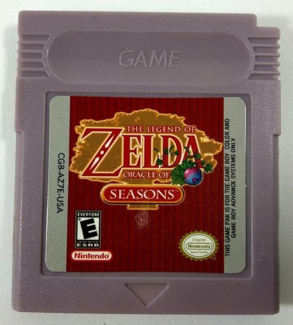 Zelda Oracle of Seasons - GBC