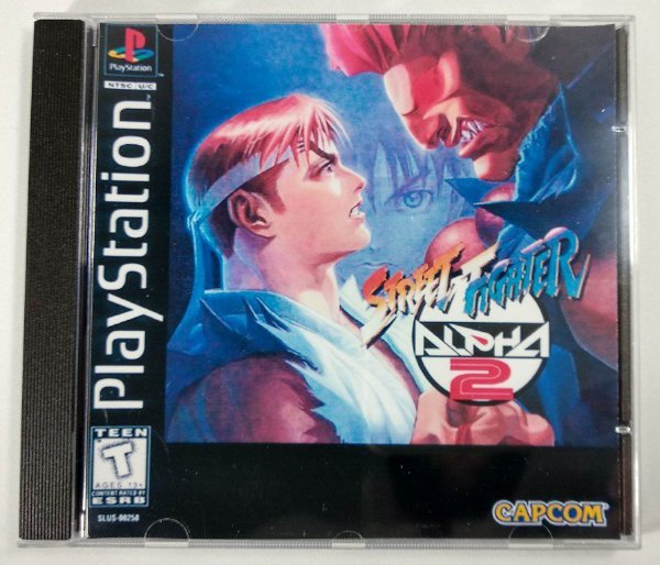 Street Fighter Alpha 2 [REPLICA] - PS1 ONE