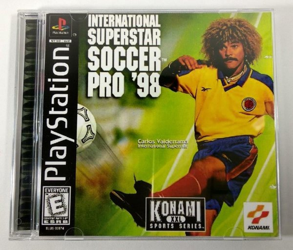 International Superstar Soccer PRO 98 [REPLICA] - PS1 ONE
