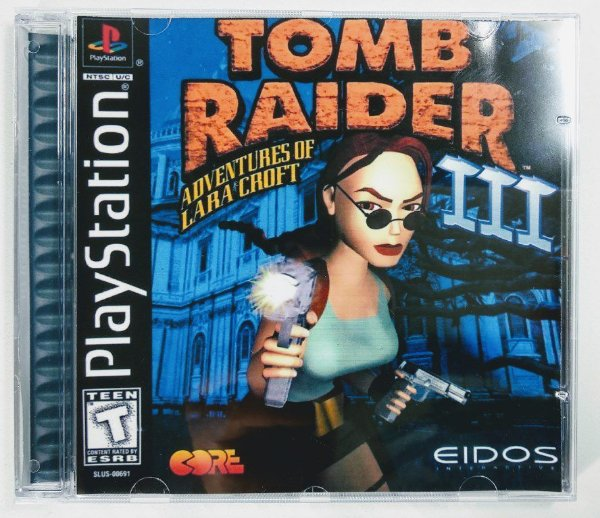 Tomb Raider III [REPLICA] - PS1 ONE