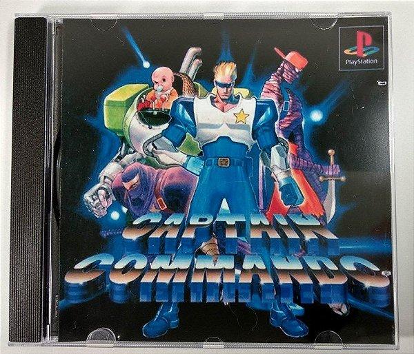 Captain Commando [REPLICA] - PS1 ONE
