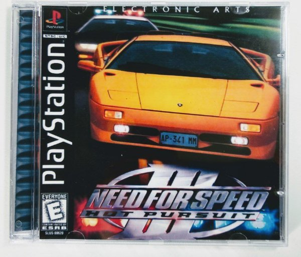 Need For Speed III Hot Pursuit [REPLICA] - PS1 ONE