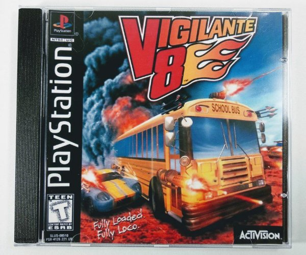 Vigilante 8 [REPLICA] - PS1 ONE