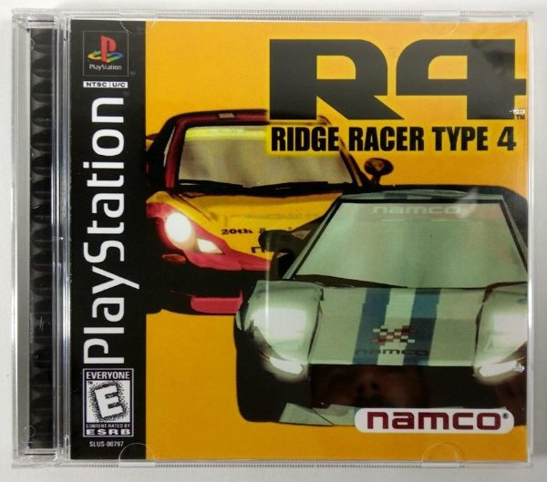 R4 Ridge Racer Type 4 [REPLICA] - PS1 ONE