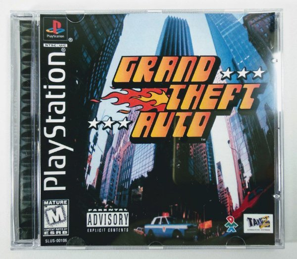 Grand Theft Auto [REPLICA] - PS1 ONE