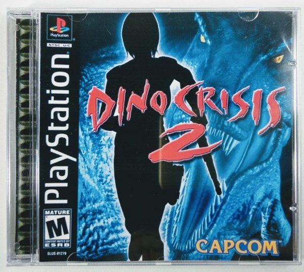 Dino Crisis 2 [REPLICA] - PS1 ONE