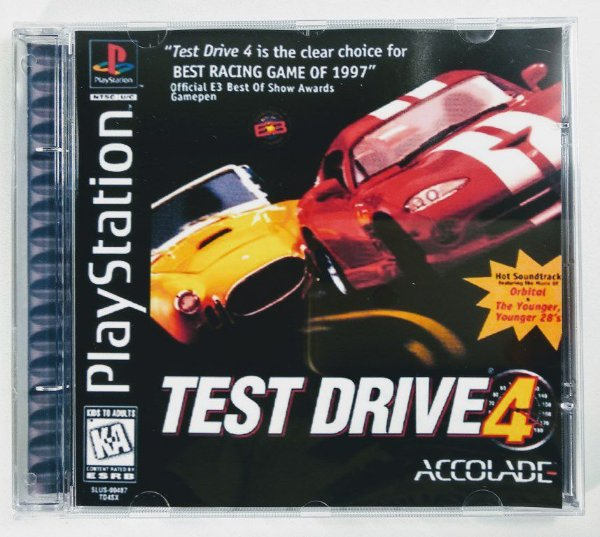 Test Drive 4 [REPLICA] - PS1 ONE