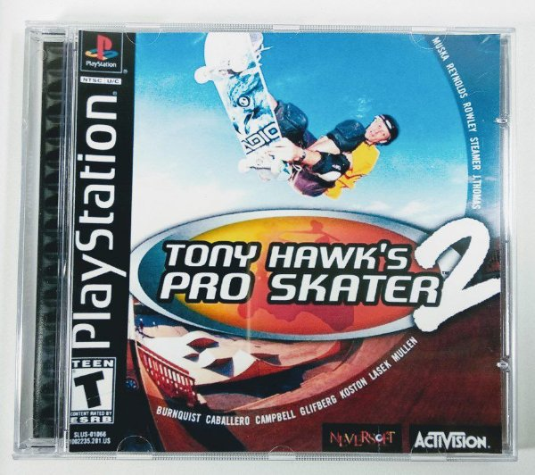 Tony Hawks Pro Skater 2 [REPLICA] - PS1 ONE