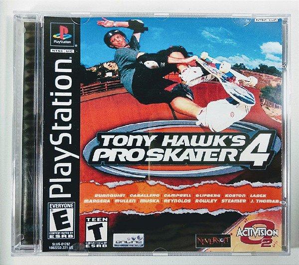 Tony Hawks Pro Skater 4 [REPLICA] - PS1 ONE