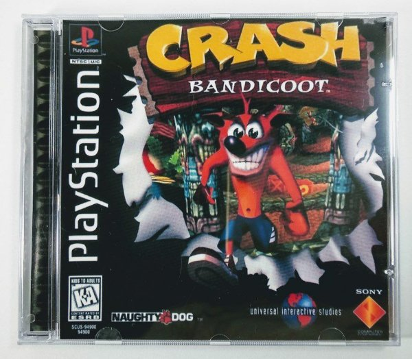 Crash Bandicoot [REPLICA] - PS1 ONE