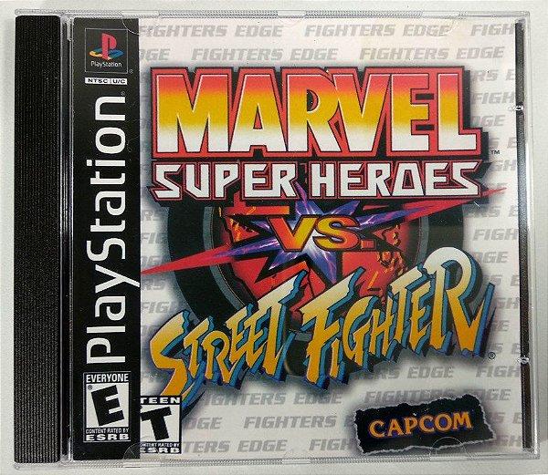 Marvel vs Street Fighter [REPLICA] - PS1 ONE