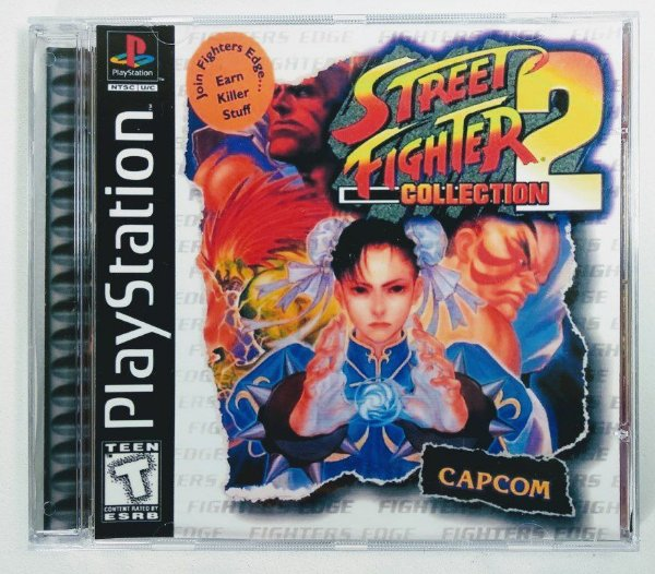 Street Fighter Collection 2 [REPLICA] - PS1 ONE