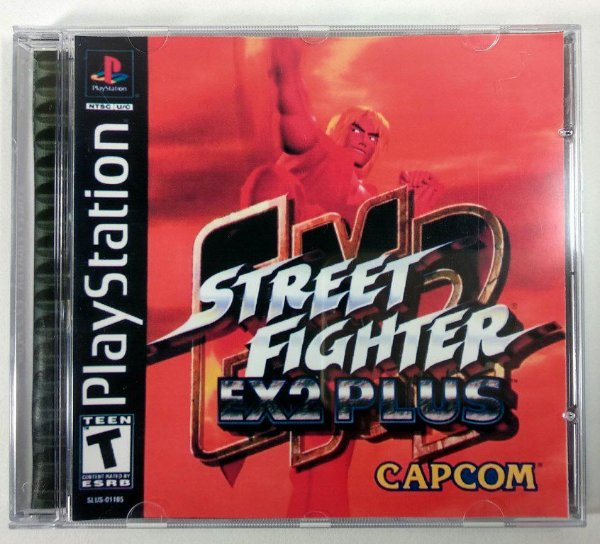 Street Fighter EX2 Plus [REPLICA] - PS1 ONE