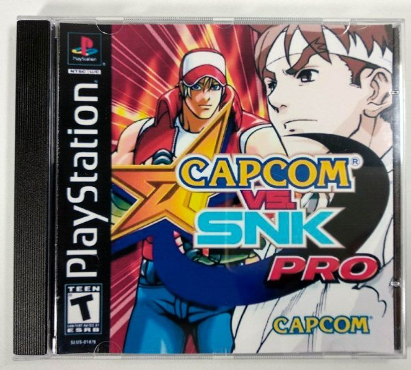 Capcom vs SNK PRO [REPLICA] - PS1 ONE