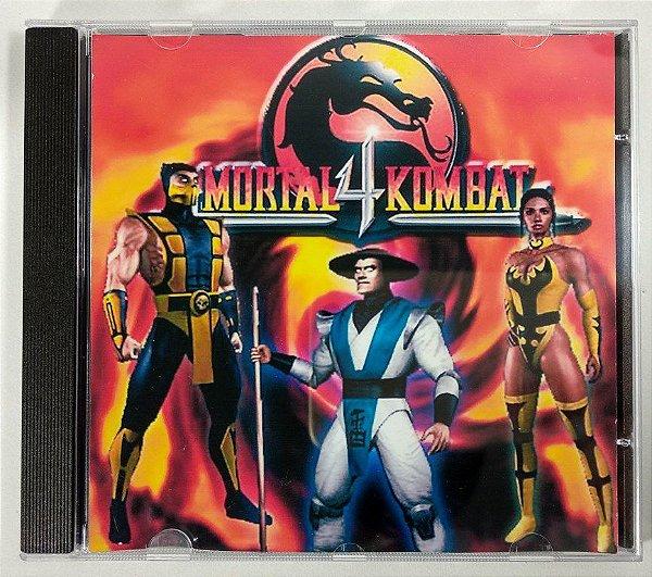 Mortal Kombat 4 [REPLICA] - PS1 ONE