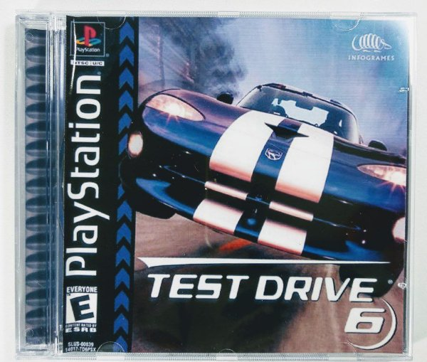 Test Drive 6 [REPLICA] - PS1 ONE