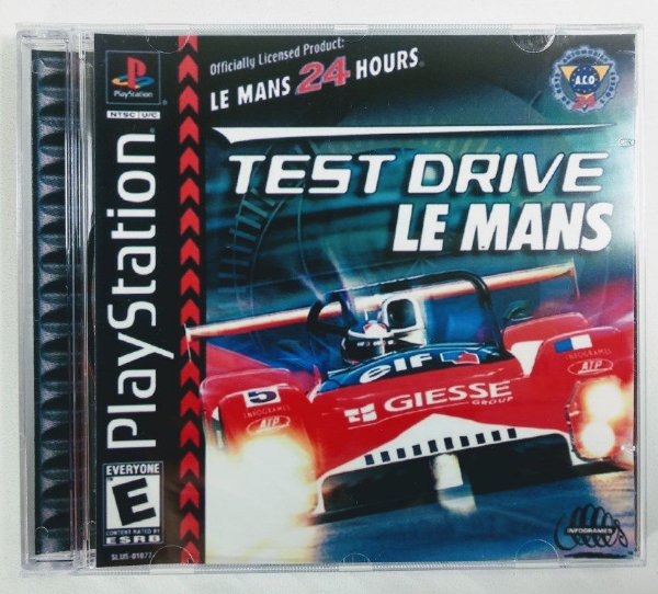 Test Drive Le Mans [REPLICA] - PS1 ONE