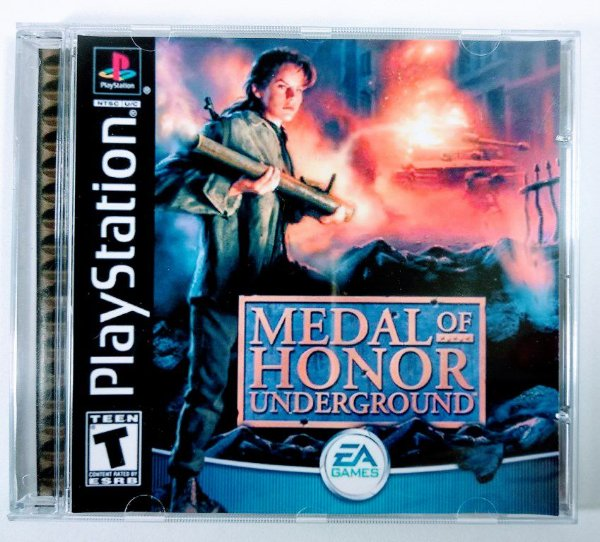 Medal of Honor Underground [REPLICA] - PS1 ONE