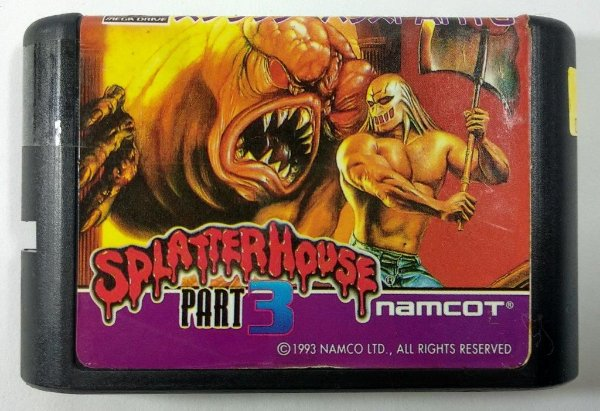 Splatter House part 3 - Mega Drive