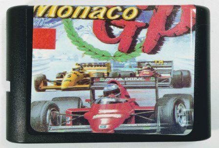 Super Monaco GP - Mega Drive