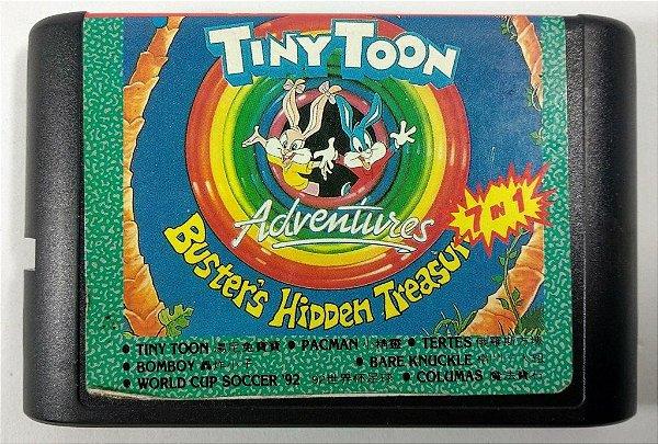 7 in 1 (Tiny Toon - Street of Rage - Columns e mais) - Mega Drive