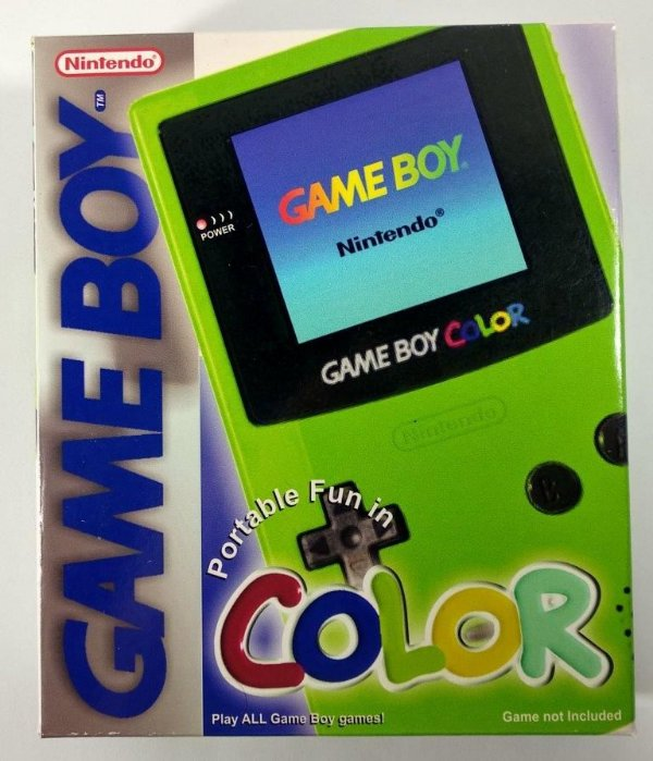 Caixa Game Boy Color Verde [Replica] - GBC