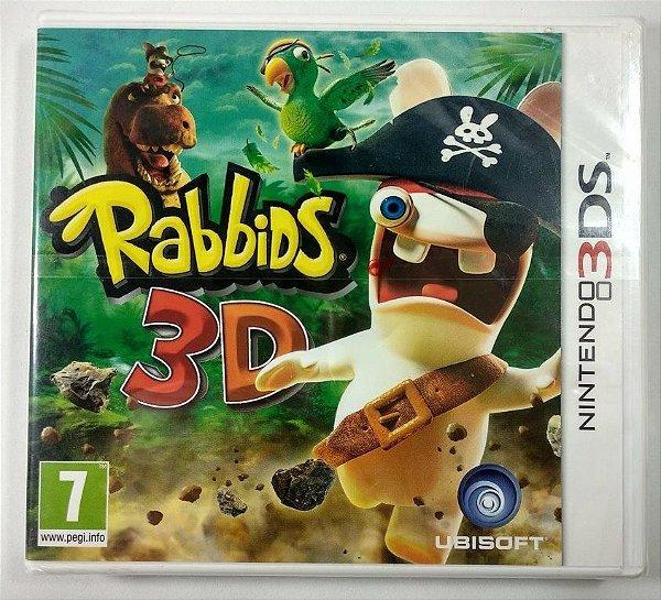 Rabbids 3D Original (LACRADO) [Europeu] - 3DS