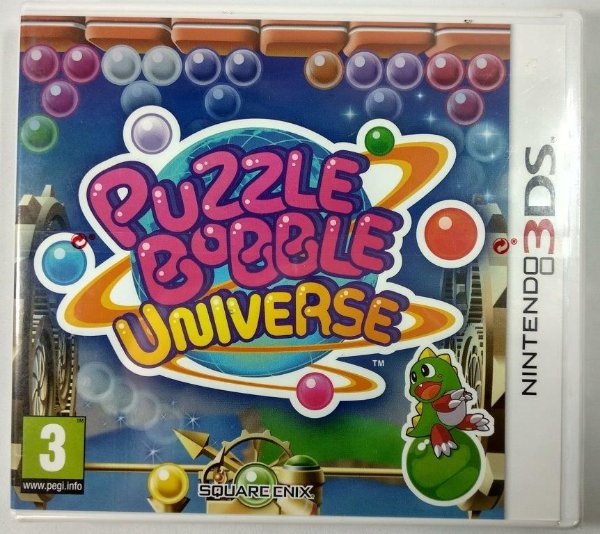 Puzzle Bobble Universe Original (LACRADO) [Europeu] - 3DS
