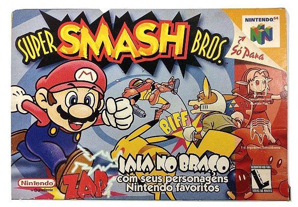 Caixa Super Smash Bros - N64