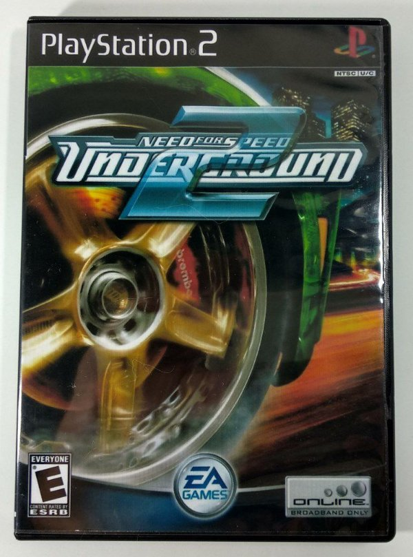 Need For Speed Underground 2 - [REPLICA] - PS2