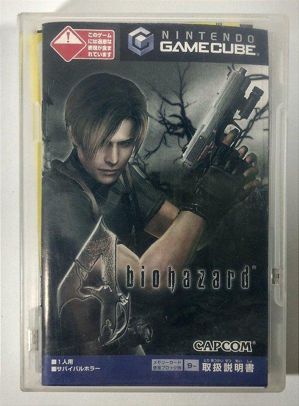 Biohazard 4 (Resident Evil 4) Original [Japonês] - GC