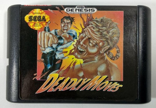Deadly Moves - Mega Drive