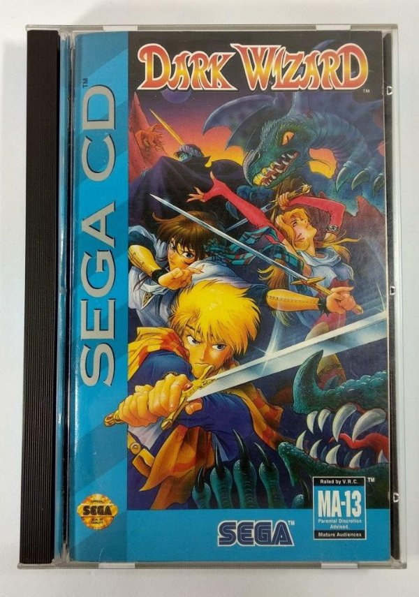 Dark Wizard Original - Sega CD