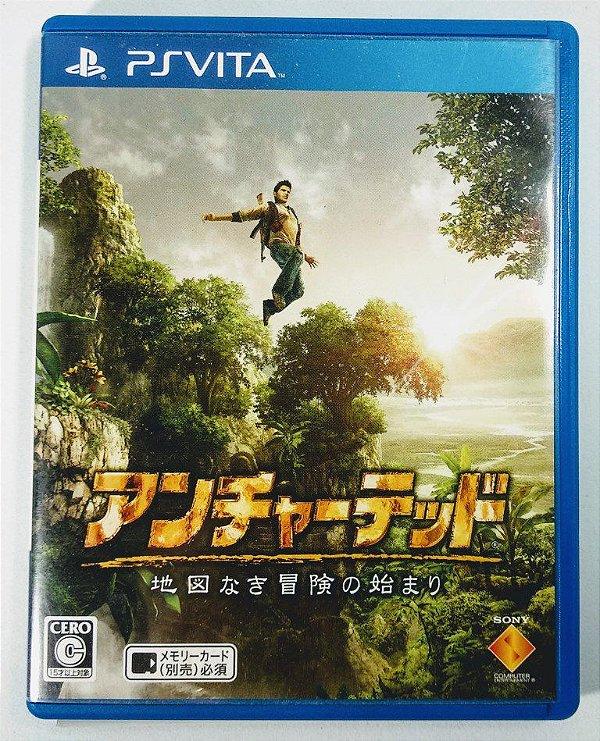 Jogo Uncharted: Golden Abyss [JAPONÊS]  - PS Vita