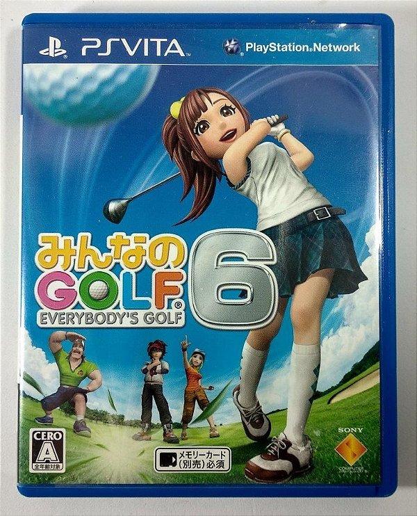 Everybody's Golf 6 [JAPONÊS] - PS Vita